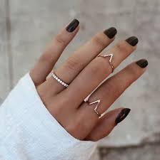 ring set ring set gold iconic style