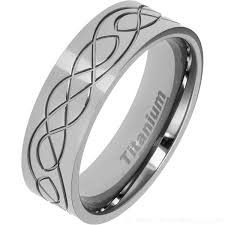 titanium celtic wedding bands 7mm celtic designed titanium wedding ring