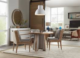 Urban Dining Room by Hooker Furniture Dining Room Urban Elevation 44in Metal Dining