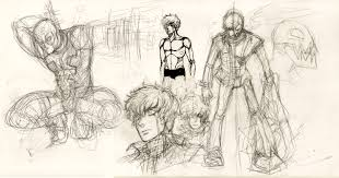 sketches metro and deadpool by jinguj on deviantart