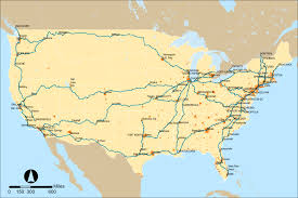 Wisconsin Railroad Map by Amtrak Wikipedia