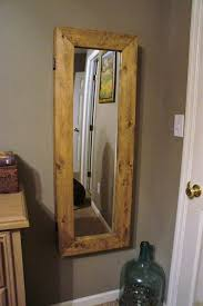 Armoire With Hanging Space Best 25 Mirror Jewelry Armoire Ideas On Pinterest Diy Jewelry