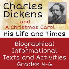 very short biography charles dickens a christmas carol charles dickens biography informational text