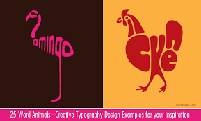 word design creative word animal typography designs by dan fleming