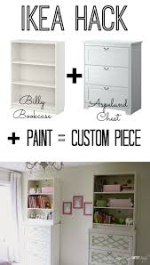 paint ikea bookcase