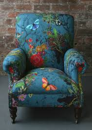 Upholstery Fabric For Armchairs Swooning Over These Timorous Beasties Chairs U0026 Fabric Inspire Reef