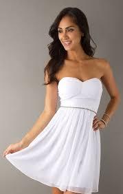 white strapless junior dress other dresses dressesss