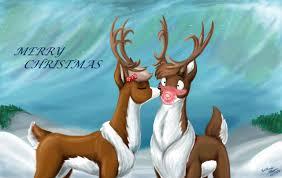 rudolph u0027s christmas kiss wmdiscovery93 deviantart