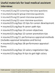 Sample Resume For Medical Assistant by Top 8 Lead Medical Assistant Resume Samples