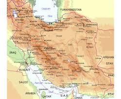 Lara Maps Maps Of Iran Detailed Map Of Iran In English Tourist Map