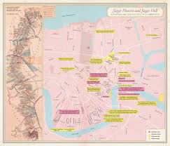 Garden District New Orleans Walking Tour Map by Unfathomable City A New Orleans Atlas Rebecca Solnit Rebecca