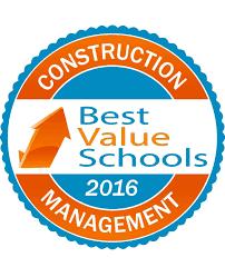 50 best value schools for construction management 2016 best