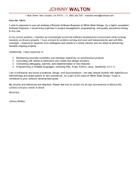 software engineer cover letter sle cover letter for software engineer internship adriangatton