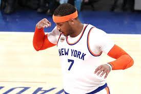 Carmelo Anthony Bench Press Oklahoma City Thunder Officially Acquire Carmelo Anthony From New