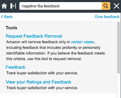 remove negative feedback amazon fba how to get negative fba feedback removed turns out it s a cinch