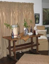 Smocked Burlap Curtains I Love That Smocked Burlap Curtain Cottage Style Pinterest