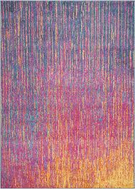 Multicolor Area Rugs Nourison Passion Psn01 Fuchsia Area Rug Carpetmart Com