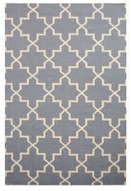 schmutzfangmatten design dywan wełniany luzern white z kolekcji basic duńskiej marki linie