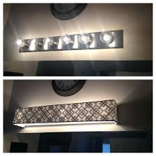diy bathroom vanity light cover bathroom light covers medium size of lighting farmhouse bathroom