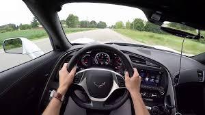 corvette test 2016 chevrolet corvette stingray convertible wr tv test