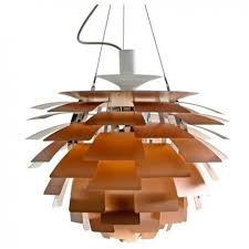 Artichoke Pendant Light Louis Poulsen Ph Artichoke Pendant L Copper By Poul Henningsen