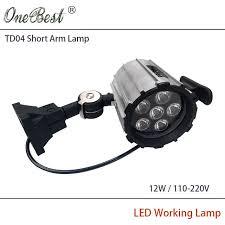 110v led work light hntd 12w 110v 220v led work waterproof spotlights led short arm fold