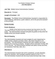 Loan Officer Job Description For Resume Free Administrative Assistant Resume Resume Template And