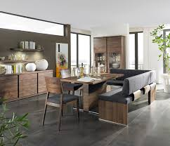 dining room sets with bench modern dining bench with back modern walnut dining table with