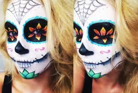 sugar skull halloween tutorial collab w allinicoleee and