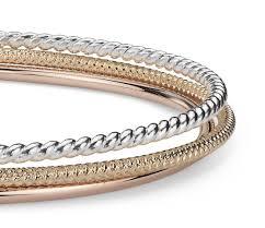bangle bracelet color gold plated images Twisted bangle bracelet in sterling silver with gold plated shop jpg
