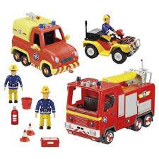 buy fireman sam emergency vehicle playset action figure