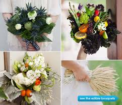 food bouquets bridal bouquets for food weddings epicurious