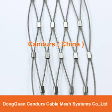 diamond ferruled stainless steel wire cable balustrade