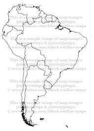 america map political blank political maps of south america