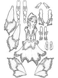 free fairy paper dolls printable download