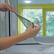 magnetic fly screens are ideal for hard to screen windows the