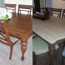 Dining Room Table Tops Painting Kitchen Table And Chairs Different Colors Dining Makeover