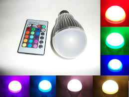 led color changing lights with best 10w change rgb light bulb l