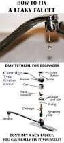 Fix Leaky Faucet Kitchen Frost Proof Faucet Faucet Ideas