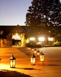 outdoor wedding lighting outdoor wedding lighting ideas from real celebrations martha
