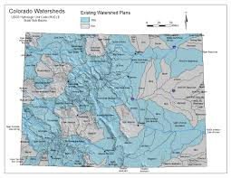 Colorado River Basin Map by Watershed Health Cowaterplan