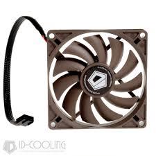 high cfm case fan id 92 15mm slim low profile fan 4pin pwm high air