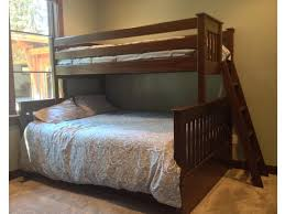 Queen Loft Bed With Desk by Bunk Beds Loft Bed With Desk And Storage Queen Over King Bunk