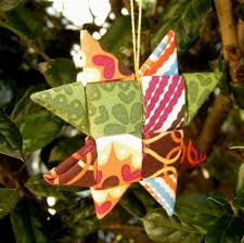 fabric star ornament tutorial betz