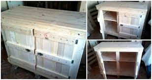 kitchen cabinets from pallet wood pallet wood cabinet unit for kitchen easy pallet ideas