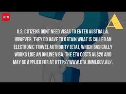visa bureau australia do you need a visa to go to australia from usa