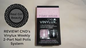 review cnd vinylux nail polish system real beauty youtube