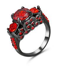 black wedding ring size 7 black wedding engagement ring cluster cocktail