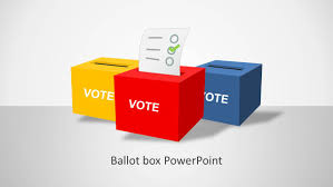 ballot box template