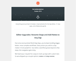 Sample Letter Of Announcement For A New Business by 4 Launch Out Of Beta Zapier